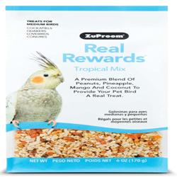 ZuPreem Real Rewards Tropical Mix Treats for Medium Birds 1ea/6 oz