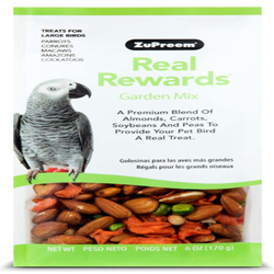 ZuPreem Real Rewards Garden Mix Treats for Large Birds 1ea/6 oz