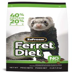 ZuPreem Premium Ferret Diet Dry Food 1ea/4 lb