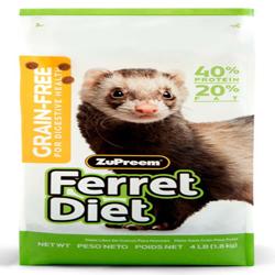 ZuPreem Grain-Free Ferret Diet Dry Food 1ea/4 lb