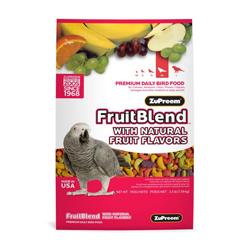 ZuPreem FruitBlend with Natural Flavor Pelleted Bird Food for Medium Birds 1ea/0.875 lb