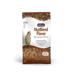 ZuPreem NutBlend with Natural Nut Flavor Pelleted Bird Food for Medium Birds 1ea/2 lb
