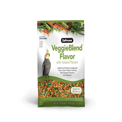 ZuPreem VeggieBlend with Natural Flavor Pelleted Bird Food for Medium Birds 1ea/2 lb