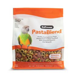 ZuPreem PastaBlend Pelleted Bird Food for Parrots and Conures 1ea/3 lb