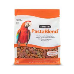 ZuPreem PastaBlend Pelleted Bird Food for Large Birds 1ea/3 lb