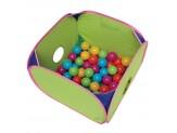 Marshall Pet Pop-n-Play Ball Pit with Plastic Balls 14x14x10