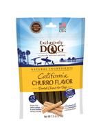 Exclusively Dog California Churro Flavor Dental Chew 7.5 oz