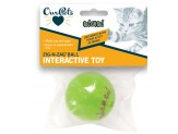 OurPets Zig-n-Zag Ball Cat Toy
