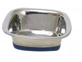 OurPet's Durapet Premium Stainless Steel Square Bowl Medium