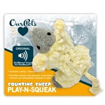 OurPet's Play N Squeak Counting Sheep Cat Toy