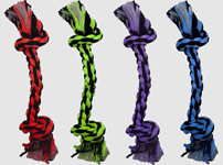 Multipet Nuts for Knots 2-Knot Rope Dog Toy