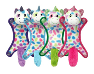 Multipet Ball-Head Unicorn Puppy Toy Assorted 1ea/10 in