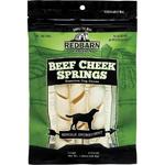 Redbarn Pet Products Beef Cheek Spring Dog Treat 1ea/3 pk