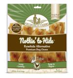 Fieldcrest Farms Nothin to Hide Flip Chips Dog Treat Chicken 8pk