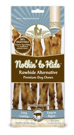 Fieldcrest Farms Nothin to Hide Twist Stix Dog Treat Beef Large 10pk