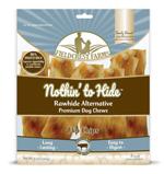 Fieldcrest Farms Nothin to Hide Flip Chips Dog Treat Beef 8pk