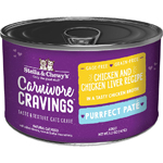 Stella & Chewys Cat Carnivore Cravings Pate Chicken & Liver 5.2oz. (Case of 24