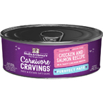 Stella & Chewys Cat Carnivore Cravings Pate Chicken & Salmon 2.8oz. (Case of 24)
