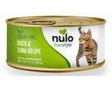 Nulo Freestyle Grain Free Duck & Tuna Recipe Can Cat Food 24Ea/5.5Oz