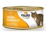 Nulo Freestyle Grain Free Chicken & Herring Recipe Can Cat Food 24Ea/5.5Oz