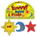 YEOWWW! Catnip toy - Sun, Moon & Stars!