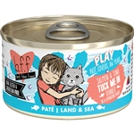 Bff Cat Play Tuck Me In Salmon 2.8 Oz. Case Of  24 (Case Of  24)