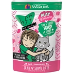 BFF Cat Play Totes Tuna 3 Oz. Pouch (Case of  12)