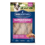 Barkworthies Turkey Jerky Recipe with Blueberry & Cranberry Blend 2-pk.-Flow Pack   Sold As Whole Case Of: 20