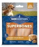 Barkworthies Mini SuperBone Ancient Grain Peanut Butter (12-Pack )