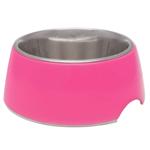 Loving Pets Retro Bowl Hot Pink 1ea/Extra Small