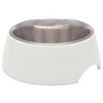 Loving Pets Retro Bowl White 1ea/Medium