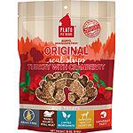 Plato Dog Strp Grain Free Turkey Cranbury 18 Oz.