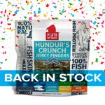 Plato Hundur?s Crunch Jerky Fingers Fish Dog Treats, 3.5OZ