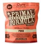 Primal Pet Foods Freeze Dried Cat Food Pork 5.5oz.
