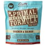 Primal Pet Foods Freeze Dried Cat Food-  5.5 oz.- Chicken  & Salmon