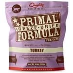 Primal Pet Foods Freeze Dried Cat Food- 5.5 oz.- Turkey