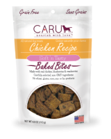 Caru  Dog  Natural  Chicken Recipe Bites  4oz.