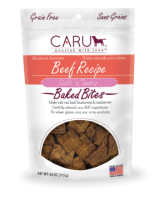 Caru  Dog Natural  Beef Recipe Bites  4oz.