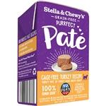 Stella & Chewys Purrfect Cat Pate Turkey 5.5Oz