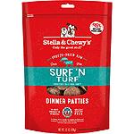 STELLA & CHEWY'S DOG FREEZE-DRIED DINNER PATTIES SURF & TURF 25OZ