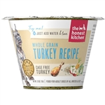 Honest Kitchen  Dog Whole Grain Turkey 1.75 oz.  Cup (Case of 12)