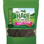 HARE Dog SLIDER Rabbit Cranberry 6 oz.