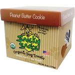 Snicky Snaks Usda Certified Organic Peanut Butter Cookie Treat, 12Lb Bulk Box