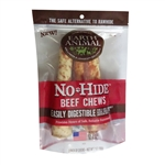 "Earth Animal No Hide Beef Chews Dog Treats, 7"", 2 Pack"