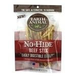 Earth Animal No Hide Beef Chews Dog Treats, 10 Pack