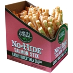 Earth Animal No Hide Salmon Chews Dog Treats, 90 count Box