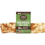 Earth Animal No Hide Pork Chews Dog Treats 11 inch Counter Refill 12 Count