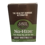 Earth Animal No Hide Pork Chews Dog Treats,90 Count