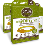 Earth Animal Herbal Flea and Tick Collar for Medium  Dogs