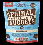 Primal Pet Foods Freeze Dried Cat Food 14 Oz.-Duck
